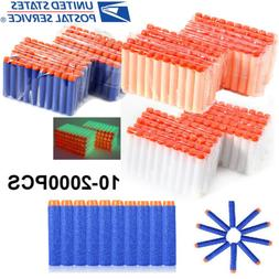 10-1000X Refill EVA Round Bullet Darts +Tactical Vest For To