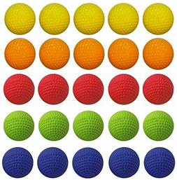100-Pcs Rival Ball Refill Pack for Nerf Rival Blaster Series