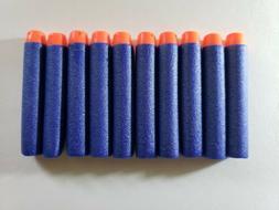 100pcs Refill Foam Bullet Dart 7.2cm Compatible Nerf N-Strik