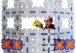 Blaster Boards - 2 Pack | Kids Fort Building Kit for Nerf Wa