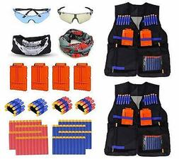 Fstop Labs 2 Pack Mega Set Kids Tactical Jacket Vest Kit for