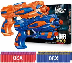 2 set - Blaster Gun Toy Nerf Gun N-Strike Elite Super Hero,