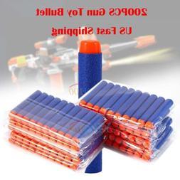 200pcs 7.2cm Refill EVA Foam Bullet Darts for Nerf-Elite Ser