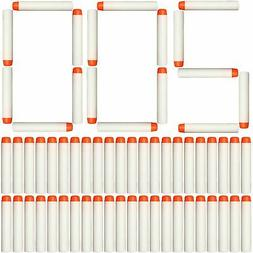 AMOSTING 200Pcs Refill Darts for Nerf N Strike Elite Glow at