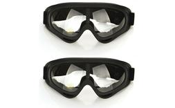 2Pcs Safety Goggles Glasses with Wind Resistance and Protect