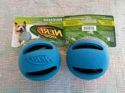 "2pk NERF DOG/Interactive 3"" Pet squeaker ball toy/Med.size t"