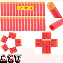30-300pcs Refill Foam Bullet Darts Centurion 9.5cm For Nerf