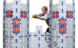 Blaster Boards - 4 Pack | Kids Fort Building Kit for Nerf Wa