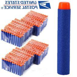 10-1000pcs For Nerf Refill Kids Toy Gun Refill Bullet Darts