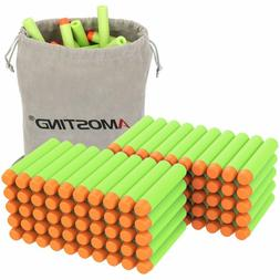 AMOSTING Refill Darts 100PCS Bullet for Nerf Strike Elite Zo