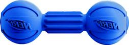 Nerf Dog Medium LED Bash Barbell Light-Up Blue Dog Toy