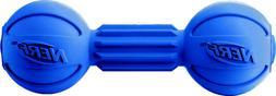 Nerf Dog Medium LED Bash Barbell Light-Up Blue Dog Toy