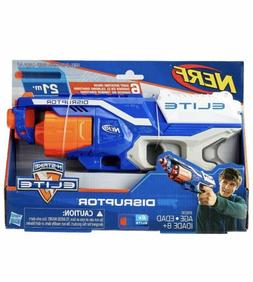 Brand New Kids NERF Gun N-Strike Elite Disruptor Dart Blaste