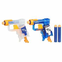 Brand New NERF N-Strike JOLT Dart BLASTER Mini ICE BLUE Soni