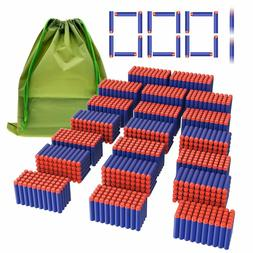 Coodoo Compatible Darts 1000 PCS Refill Pack Bullets for Ner