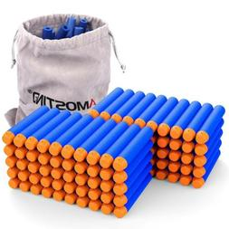 Darts Gun Refill 100 Pc Bullets Ammo for Nerf Strike Elite S
