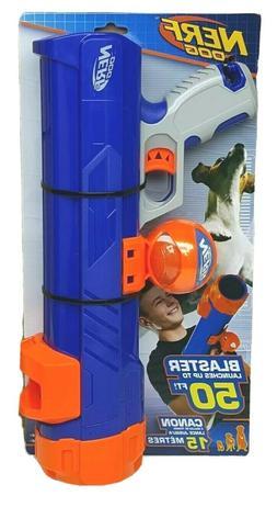 Nerf Dog Tennis Ball Blaster with 1 Blaster Reload, Medium