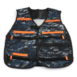 Elite Tactical Vest with Storage Pocket Quick Reload Foam Bu