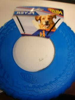 NERF DOG FLYER DISC FRISBEE Rubber Interactive Dog Puppy Toy