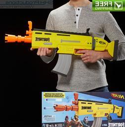 Fortnite Nerf Gun AUTOMATIC Scar AR-L Elite Blaster Rifle w