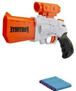 NERF Fortnite SR Blaster w/ 4 Dart Hammer Action + 4 Darts H