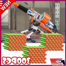 Green 7.3cm 300PCS Refill Bullet Darts for Nerf toy Gun N-st