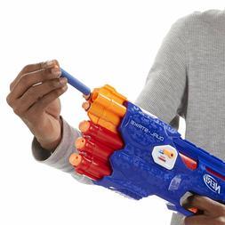Nerf Gun N-Strike DualStrike Blaster Gun 3 Mega Whistler Dar