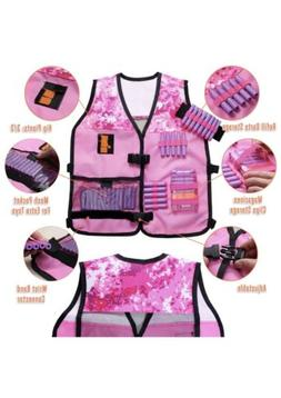 Hely Cancy Kids Tactical Vest Kit Compatibility With Nerf Gu