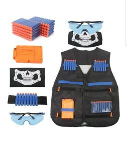 AMOSTING Kids Tactical Vest for Nerf N-Strike Elite Series G