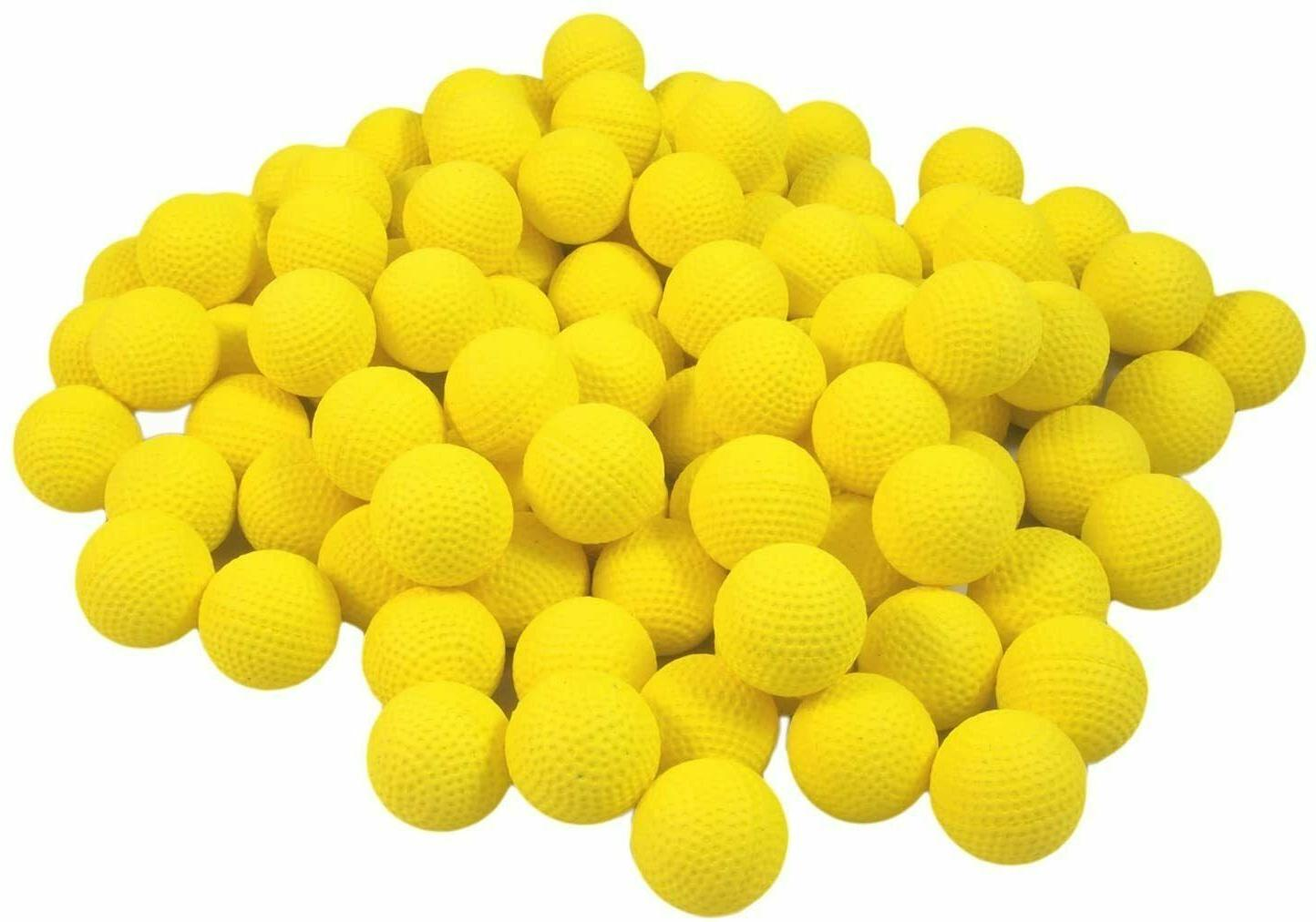 100 pcs round rival ball refill pack