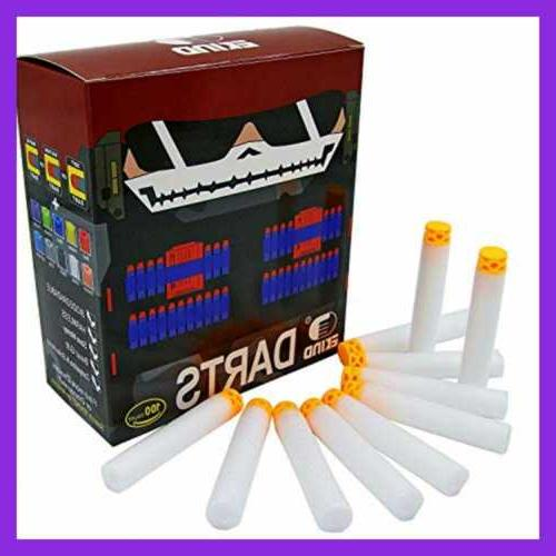 100 Pcs Design TPR Head Darts Refill For Nerf