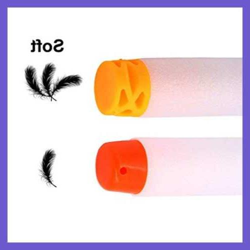 "100 Pcs TPR ""Waffles"" Soft Darts Refill For"