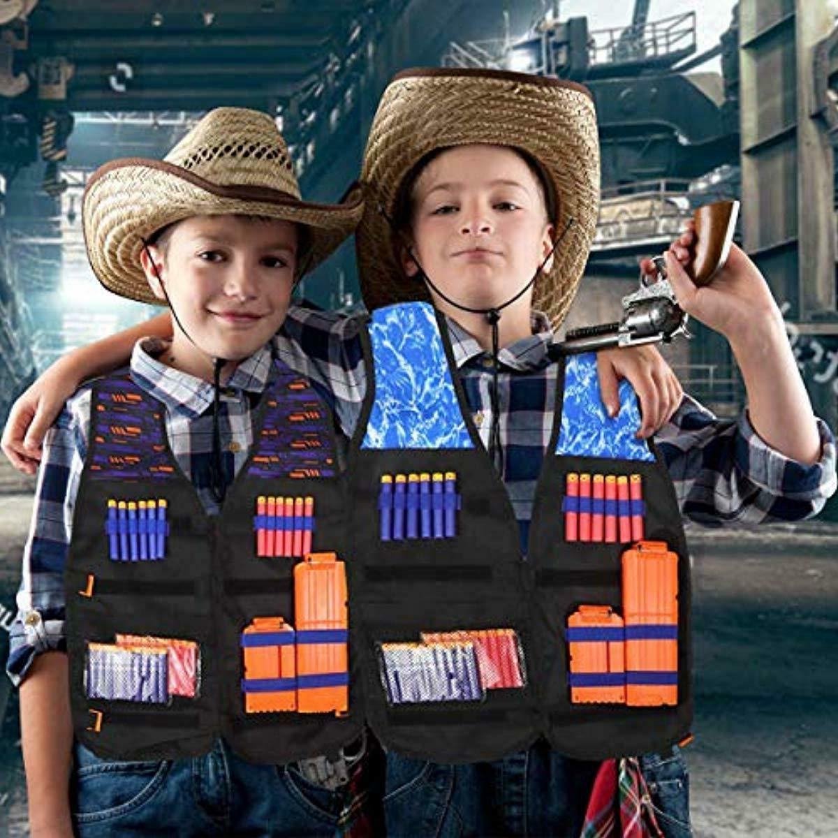 POKONBOY Vest Kits Compatible Nerf Guns N-Strike Seri
