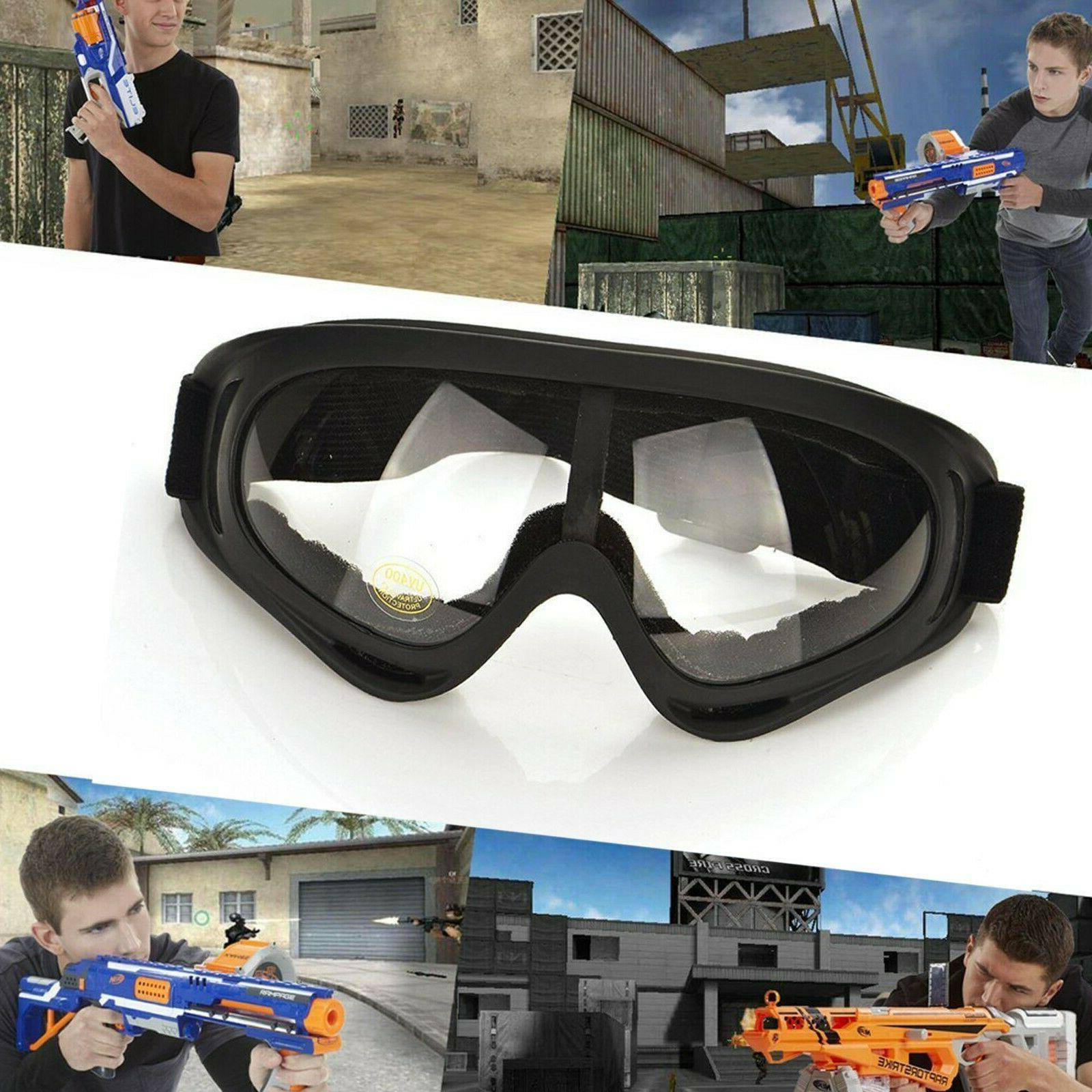 2Pcs Goggles Glasses with Wind Protection Perfect