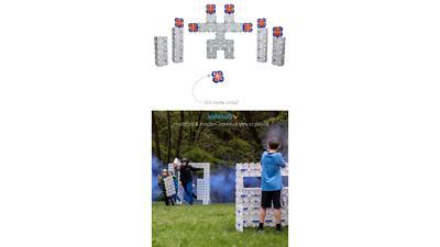 Blaster - 4 Pack Building for Wars &