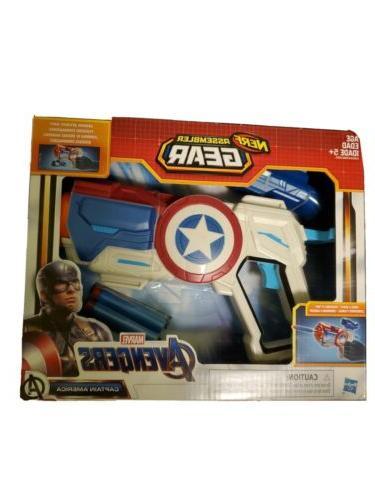 assembler gear marvel avengers captain america blaster