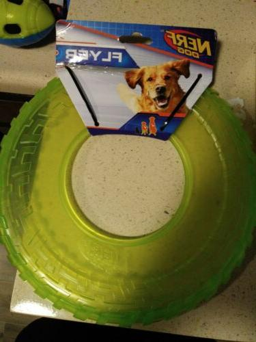flyer disc frisbee rubber interactive dog puppy