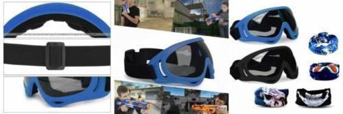 foam gun accessories blaster face mask eye