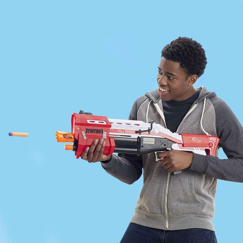 NERF TS-1 Toy Gun With Nerf Mega darts Perfect Gift Kids!