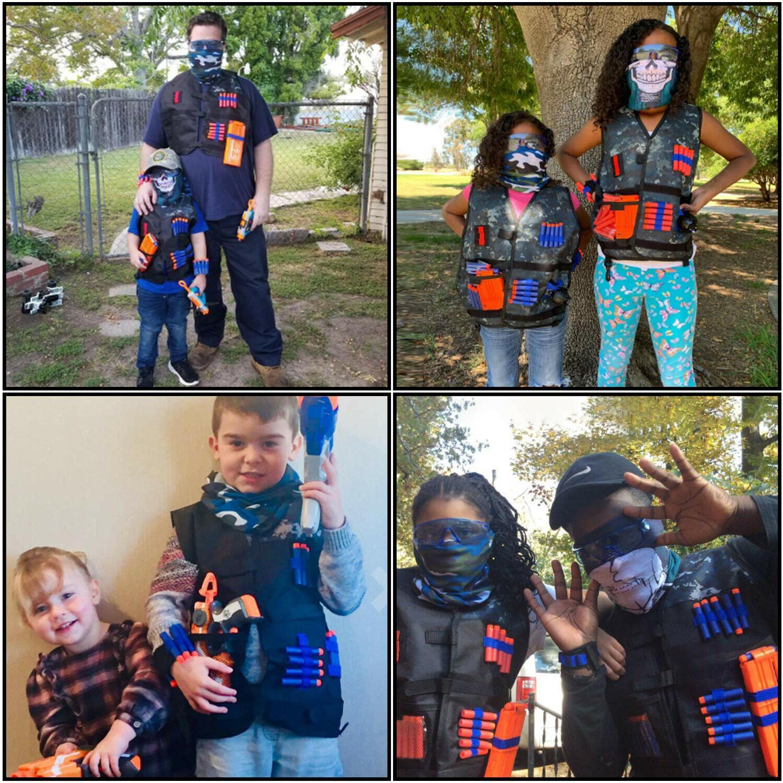 Kids Kit for Nerf Band, Protective Glasses Grenade