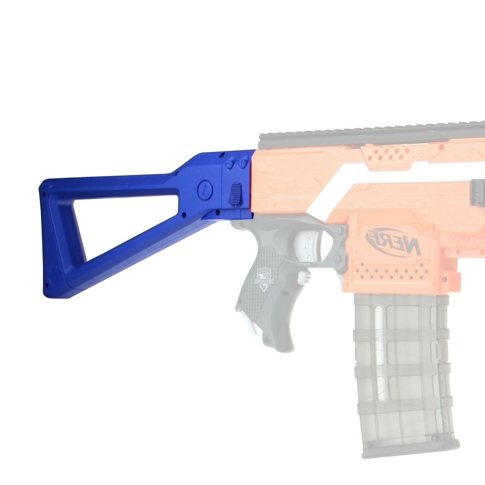 Worker4Nerf AK Shoulder Stock for Elite Blasters