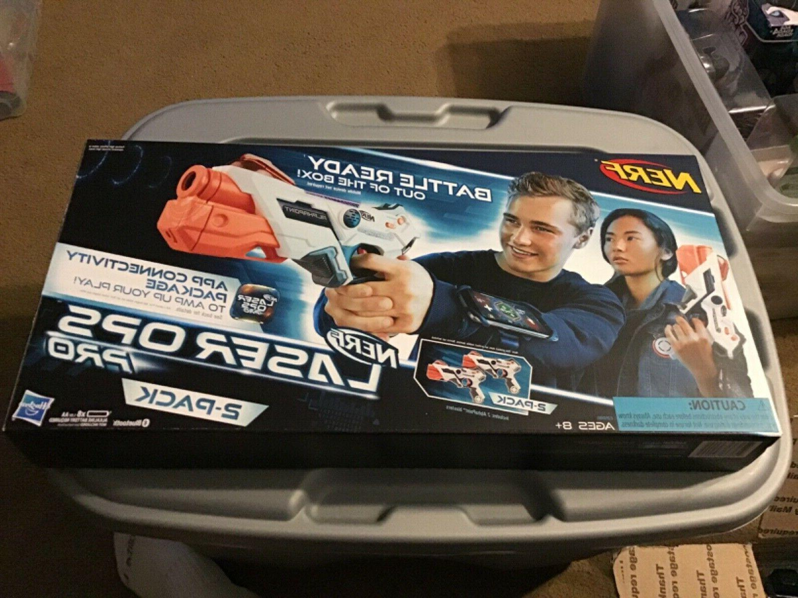 nerf laser ops pro 2 pack alphapoint
