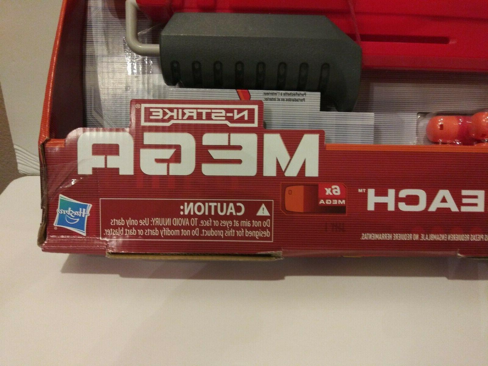 Hasbro N-Strike Mega Dart Gun New In