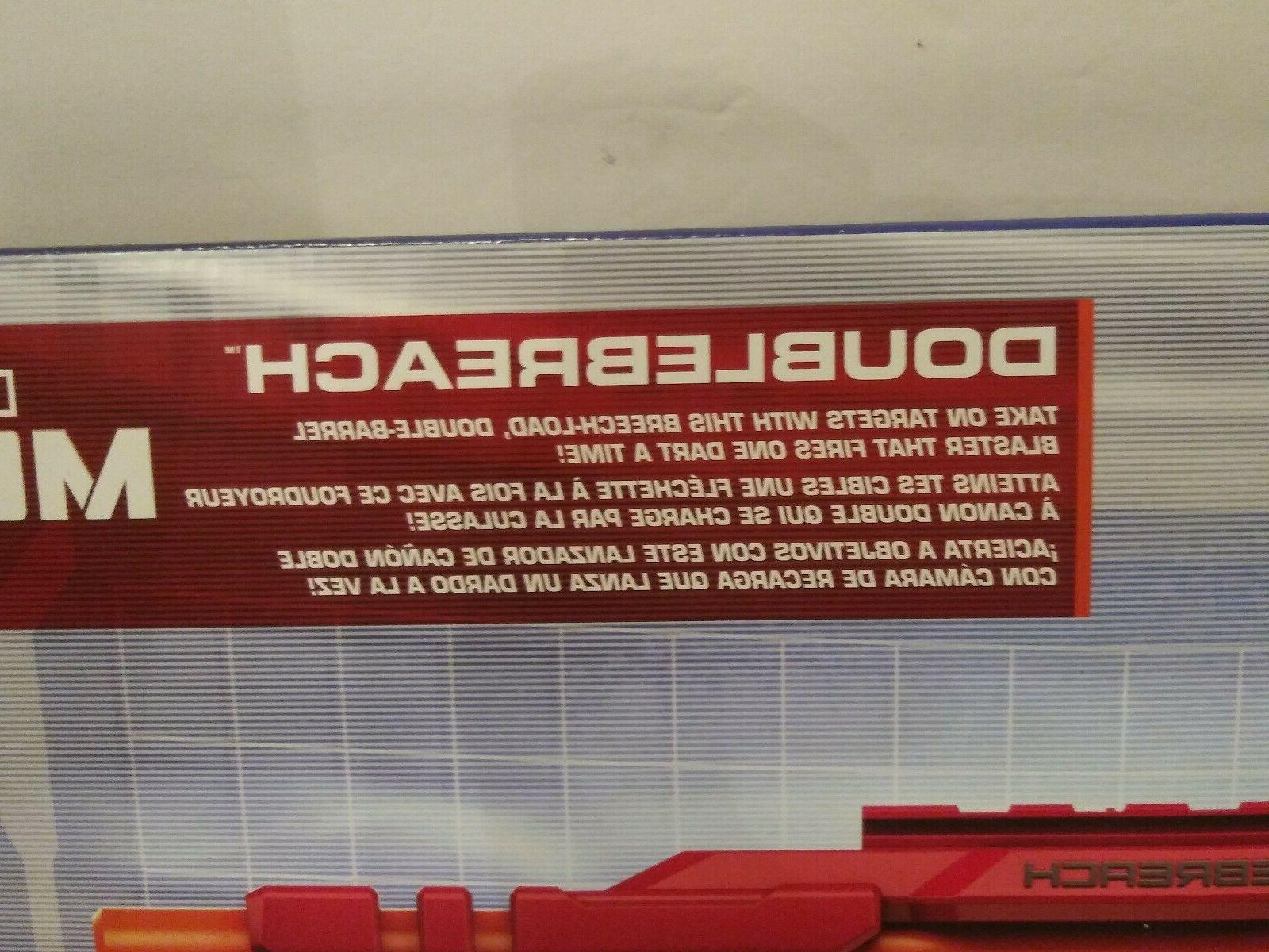 Hasbro N-Strike Mega Dart DoubleBreach Gun New In Box