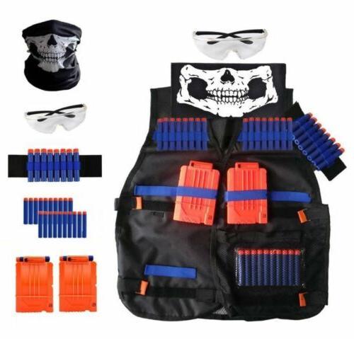 Tactical Vest Kit For Nerf Guns N Strike Elite Series Kids T