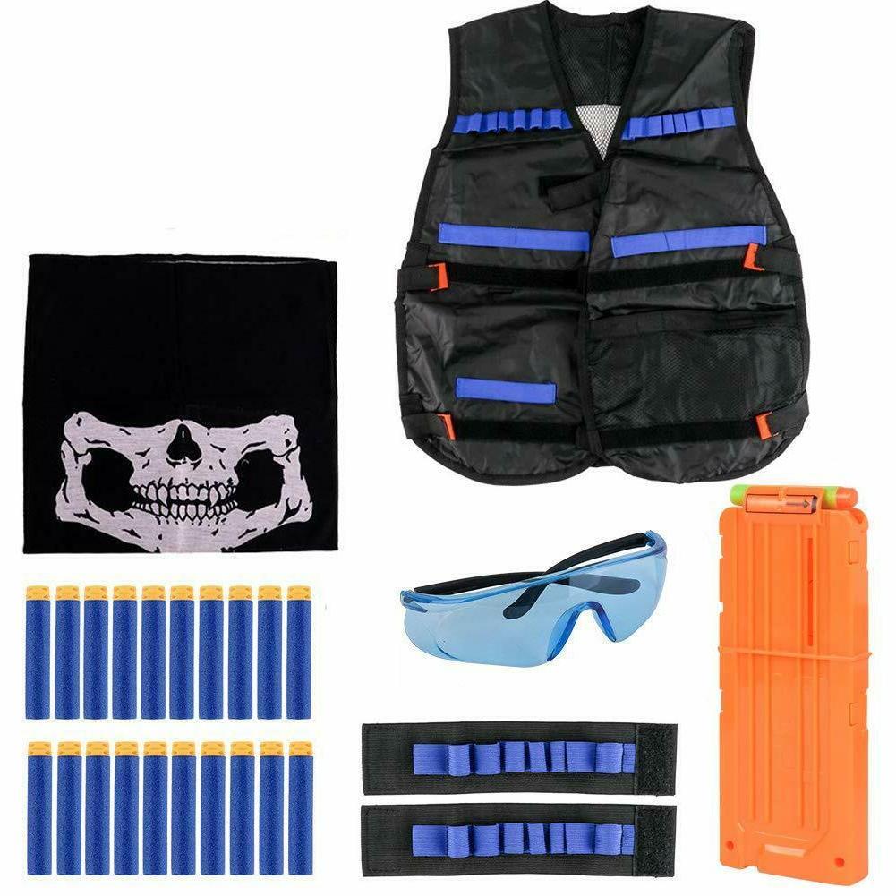 Nerf Foam Mask Glasses Kit N-Strike Gun
