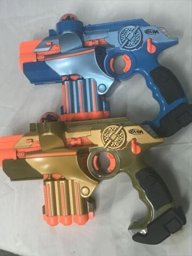 Nerf Official Lazer Tag Phoenix LTX Tagger 2 pack New