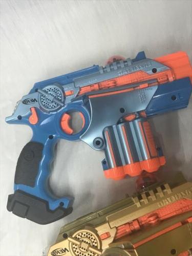 Nerf Phoenix LTX pack Multiplayer Laser New