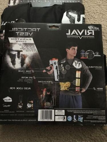 NERF RIVAL Lot Tactical 14+ Holds 4 Round