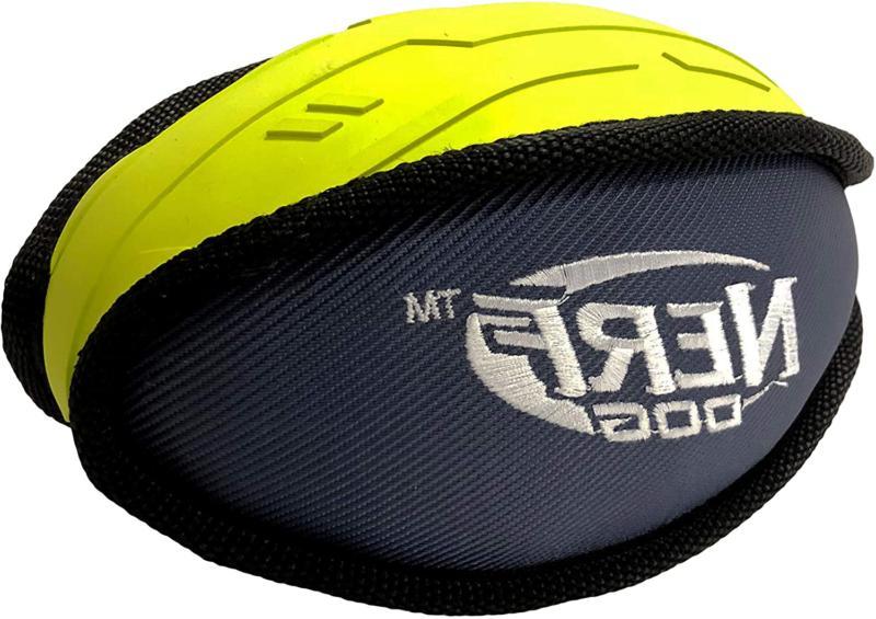 pro 7in tuff rubber nylon plush football